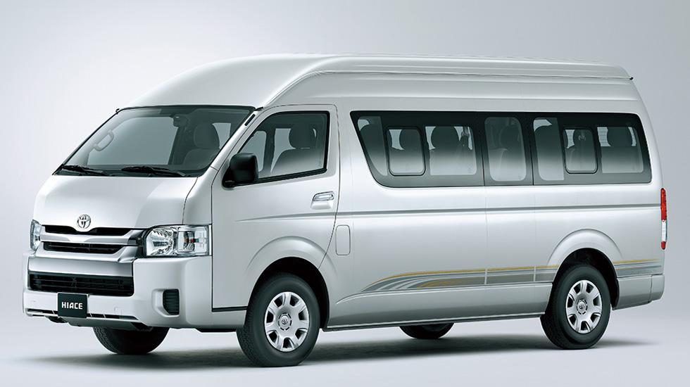 carsguide reviews toyota hiace vans
