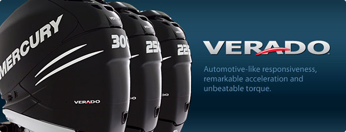 Mercury Verado Outboard Motors - Take Charge