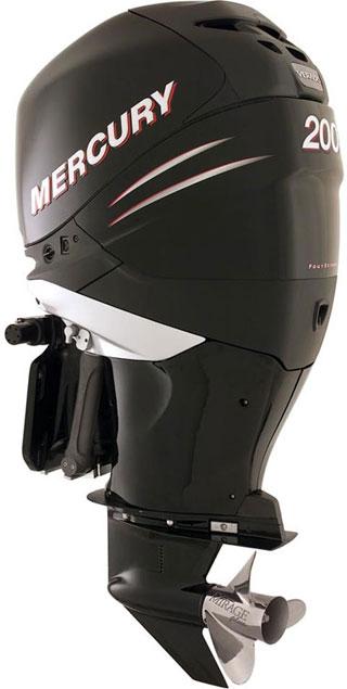 mercury verado 200hp outboard motor